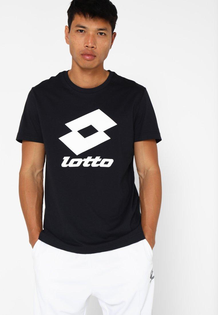 Lotto - SMART TEE - T-shirt imprimé - all black