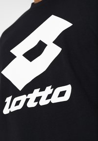Lotto - SMART TEE - T-shirt imprimé - all black - 4