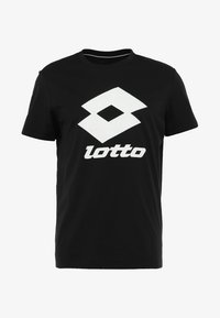 Lotto - SMART TEE - T-shirt imprimé - all black - 3
