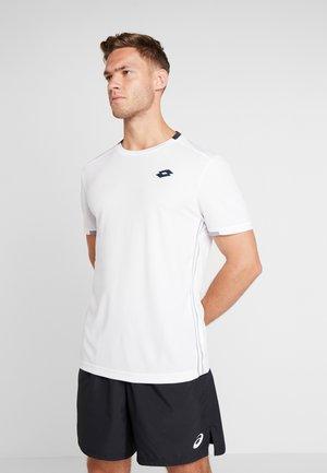 SQUADRA TEE  - Print T-shirt - brilliant white