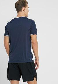 Lotto - TENNIS TEAMS TEE - T-shirt print - navy blue - 2