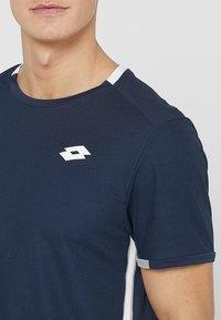 Lotto - TENNIS TEAMS TEE - T-shirt print - navy blue - 4