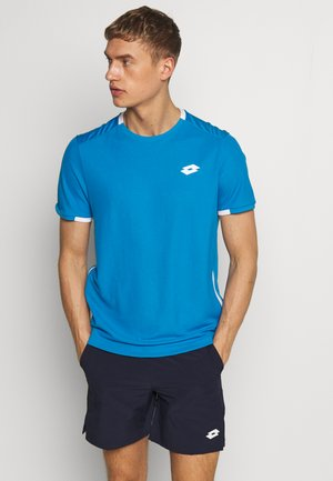 SQUADRA TEE  - T-shirts med print - diva blue
