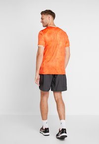Lotto - TOP TEN TEE - T-shirt imprimé - red orange - 2