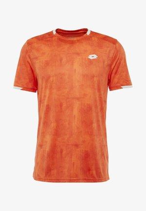 TOP TEN TEE - T-shirts print - red orange