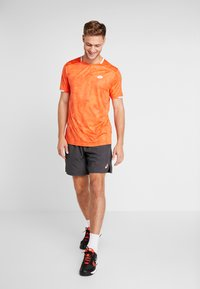 Lotto - TOP TEN TEE - T-shirt imprimé - red orange - 1