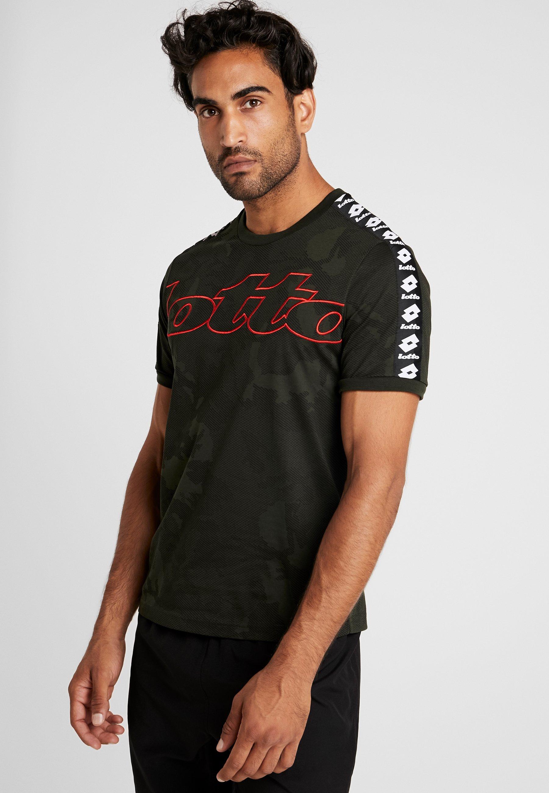 Con Stampa Lotto TeeT Resin shirt Athletica Green vnNOm08w