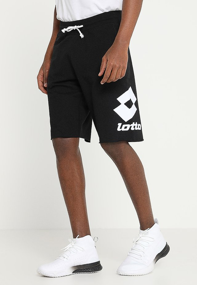 SMART BERMUDA - Sports shorts - all black