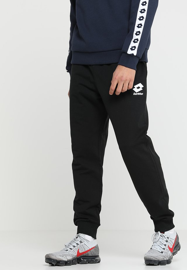 SMART PANTS - Tracksuit bottoms - all black