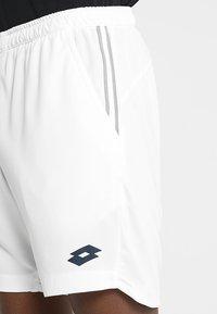 Lotto - TENNIS TEAMS SHORT - Short de sport - brilliant white - 4