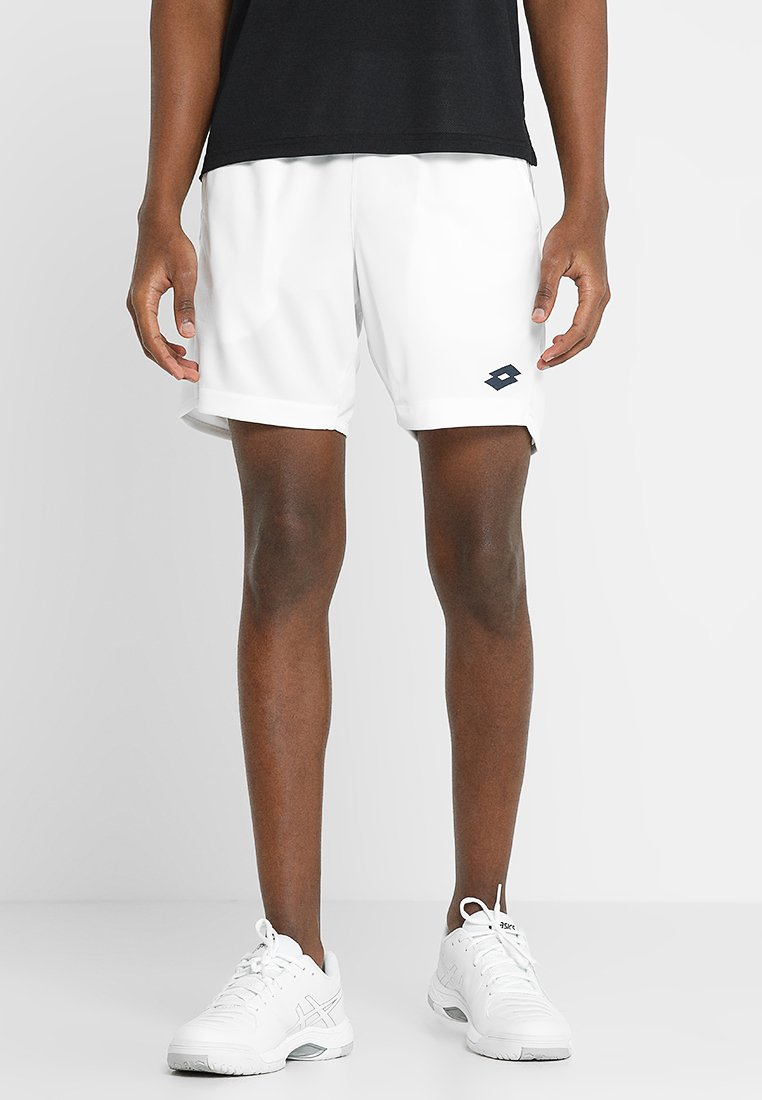 Lotto - TENNIS TEAMS SHORT - Short de sport - brilliant white