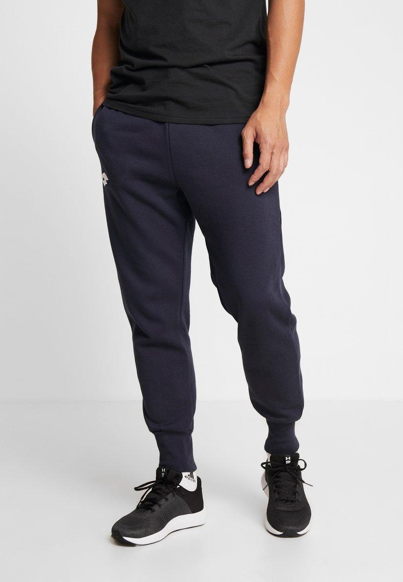 Lotto - DELTA PANT  - Tracksuit bottoms - navy blue