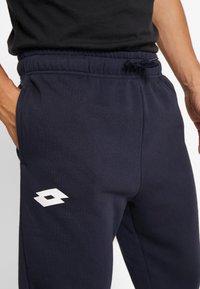 Lotto - DELTA PANT  - Pantalon de survêtement - navy blue - 5