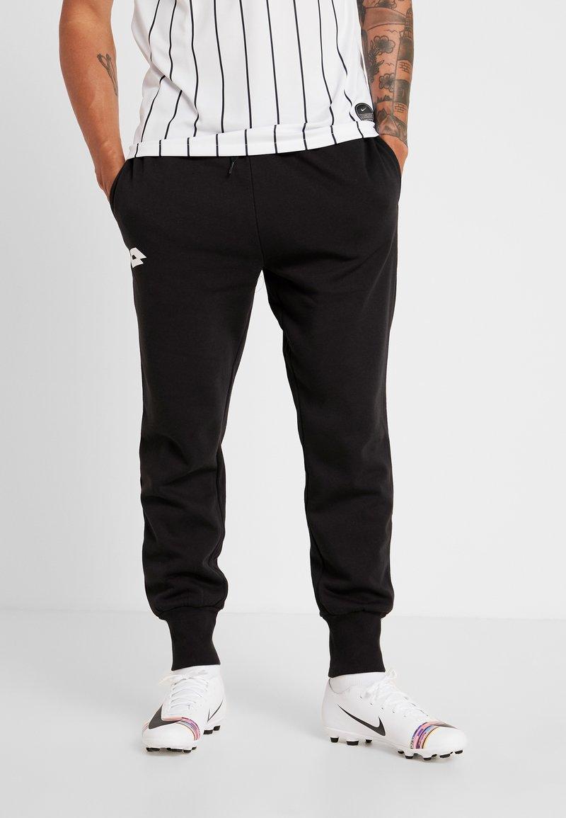 Lotto - DELTA PANT  - Jogginghose - all black