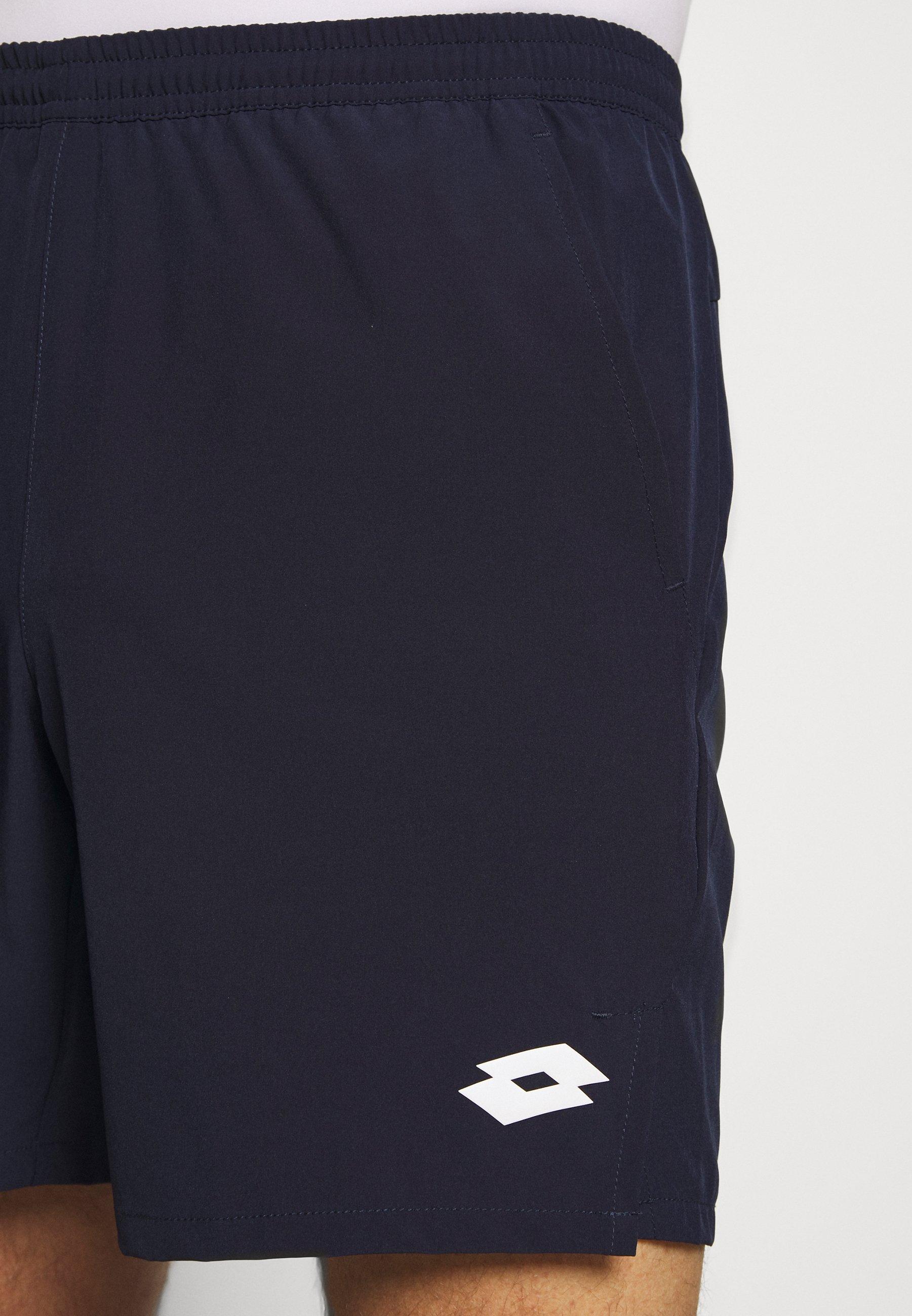 Lotto TOP TEN SHORT - Krótkie spodenki sportowe - navy blue