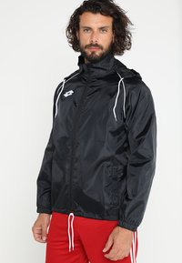 Lotto - JACKET DELTA - Impermeable - black - 0