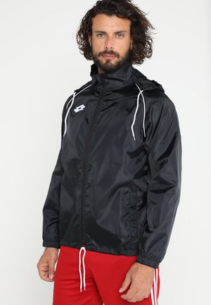JACKET DELTA - Impermeable - black