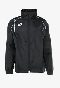 Lotto - JACKET DELTA - Impermeable - black - 5