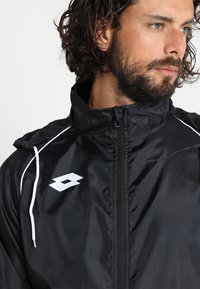 Lotto - JACKET DELTA - Impermeable - black - 4