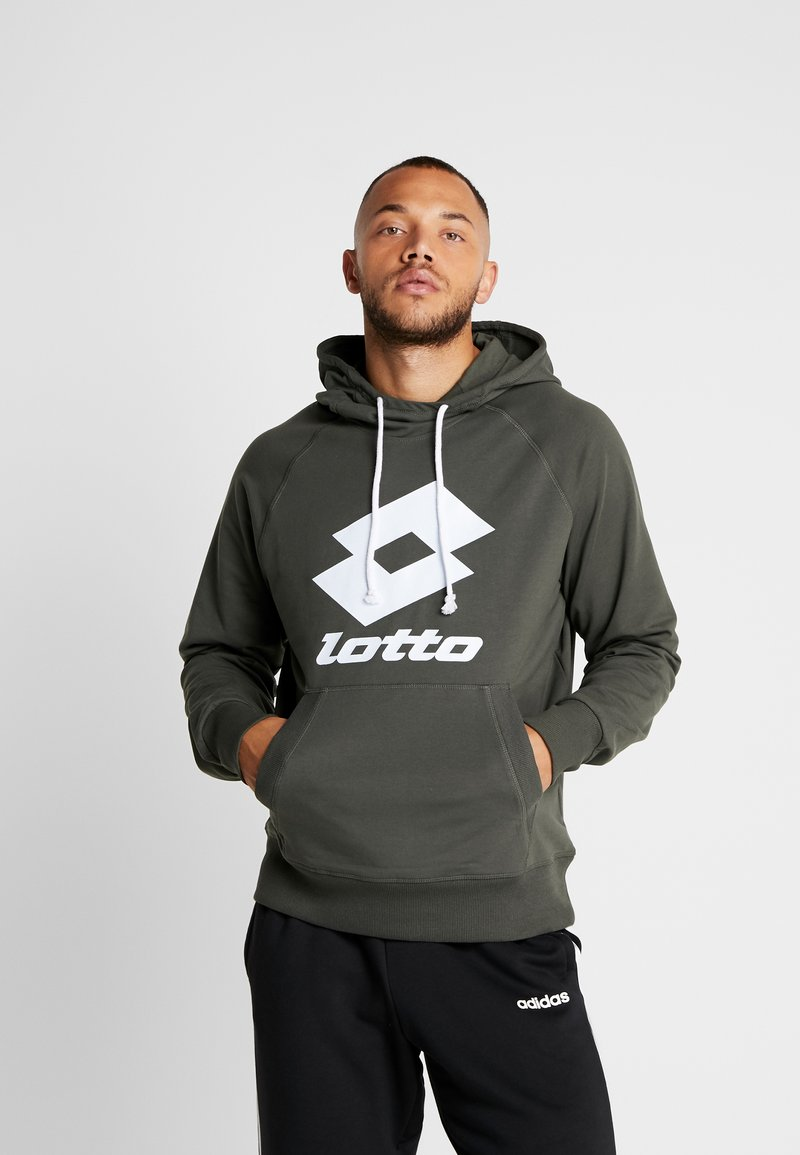 Lotto - SMART - Hoodie - green resin