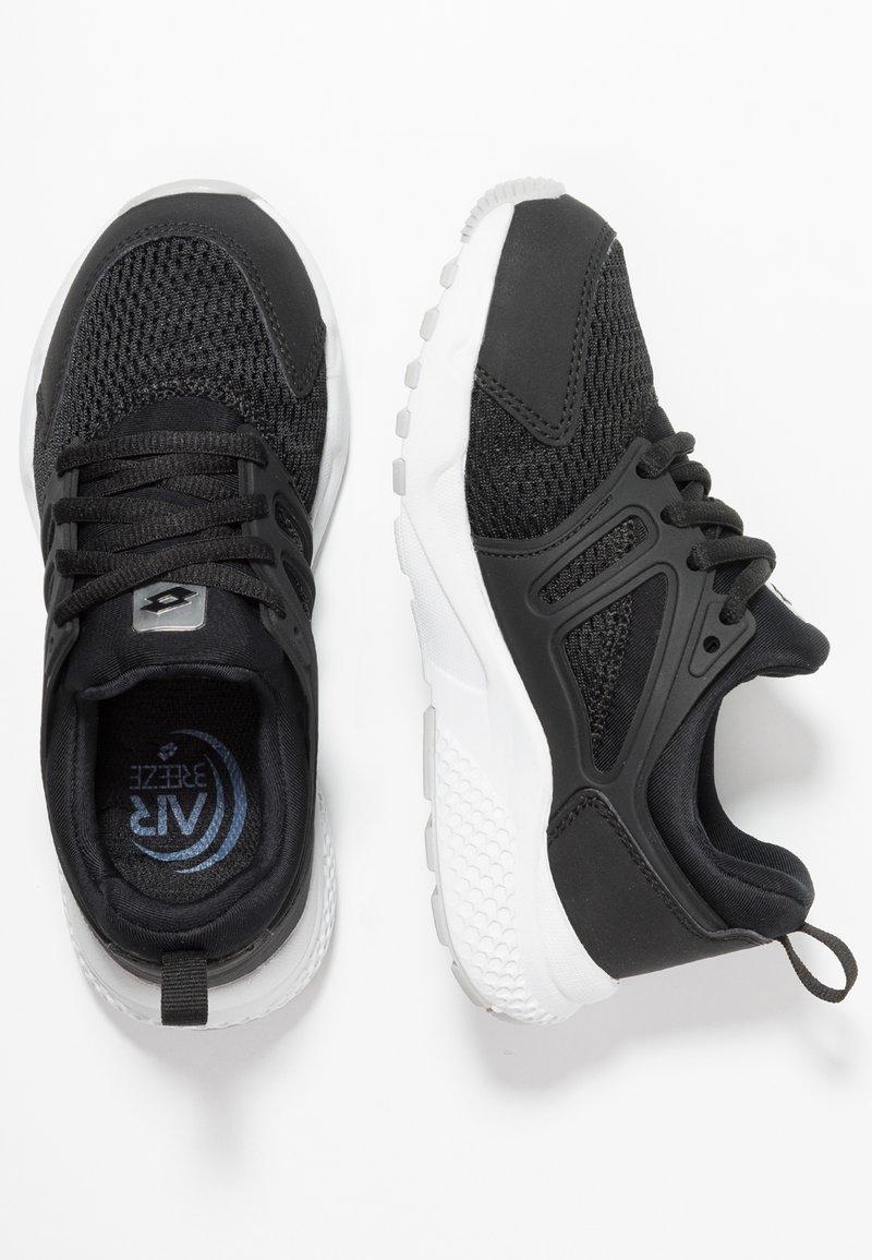 Lotto - BREEZE II - Scarpe da fitness - all black/light asphalt