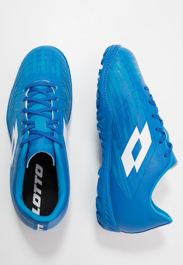 SOLISTA 700 III TF - Astro turf trainers - diva blue/all white/skydiver blue