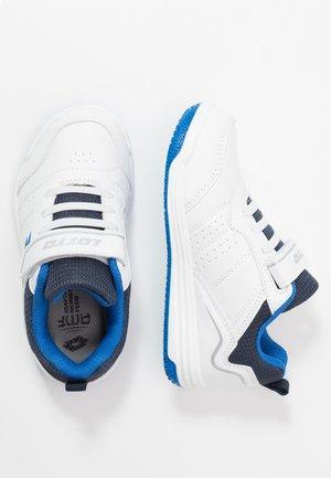 SET ACE AMF XIV - Tenisové boty na všechny povrchy - all white/dress blue/skydiver blue