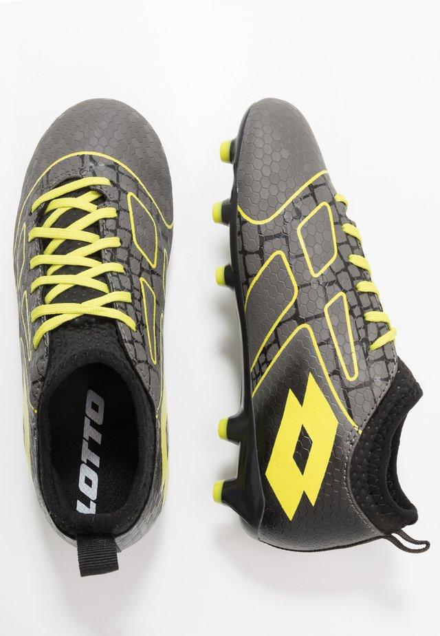 MAESTRO 700 III FG JR - Moulded stud football boots - gravity titan/acacia green/all black