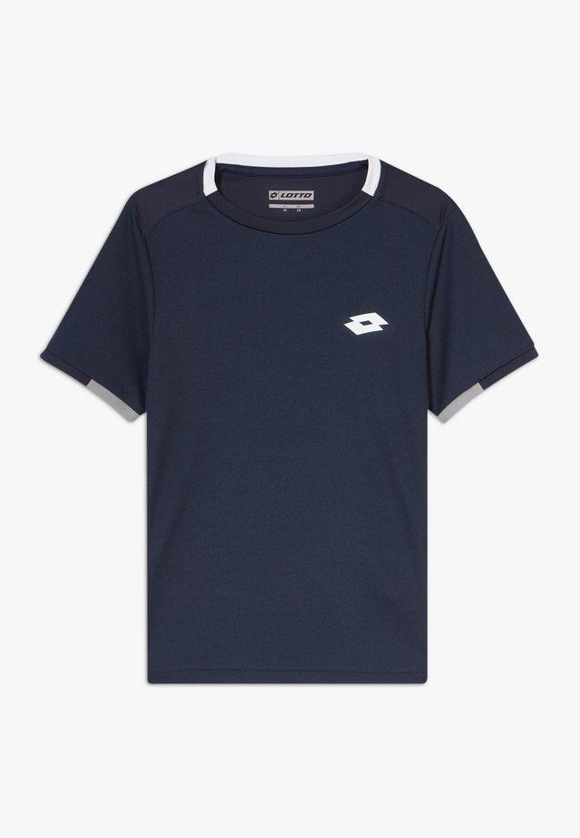 SQUADRA TEE  - T-Shirt print - navy blue