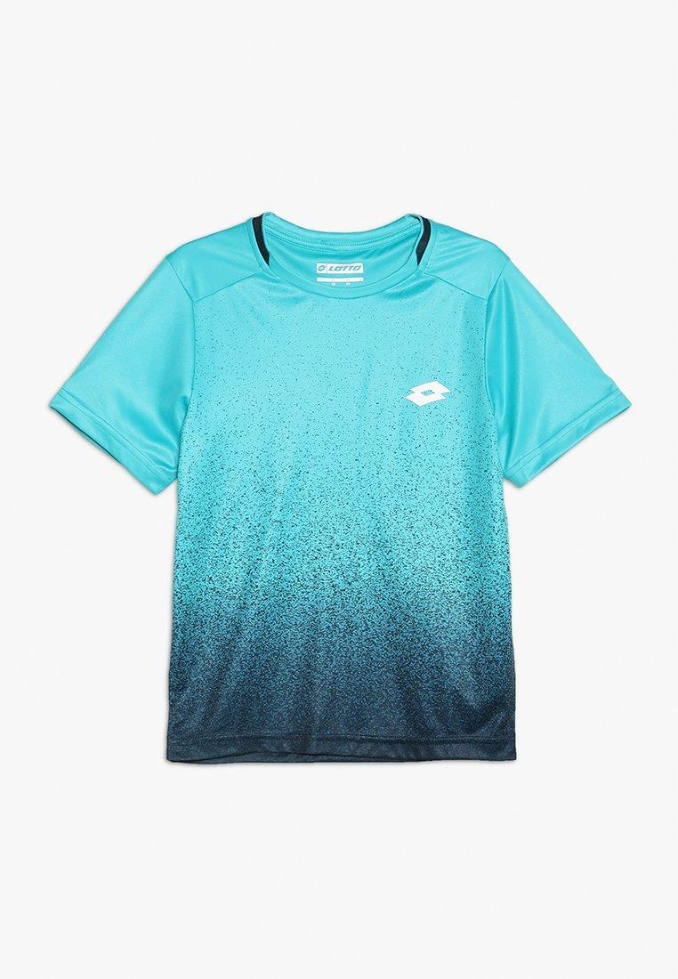 Lotto - TENNIS TECH TEE  - T-shirt con stampa - blue bird/navy blue