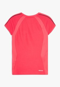 Lotto - SQUADRA TEE  - T-shirt con stampa - red fluo - 1