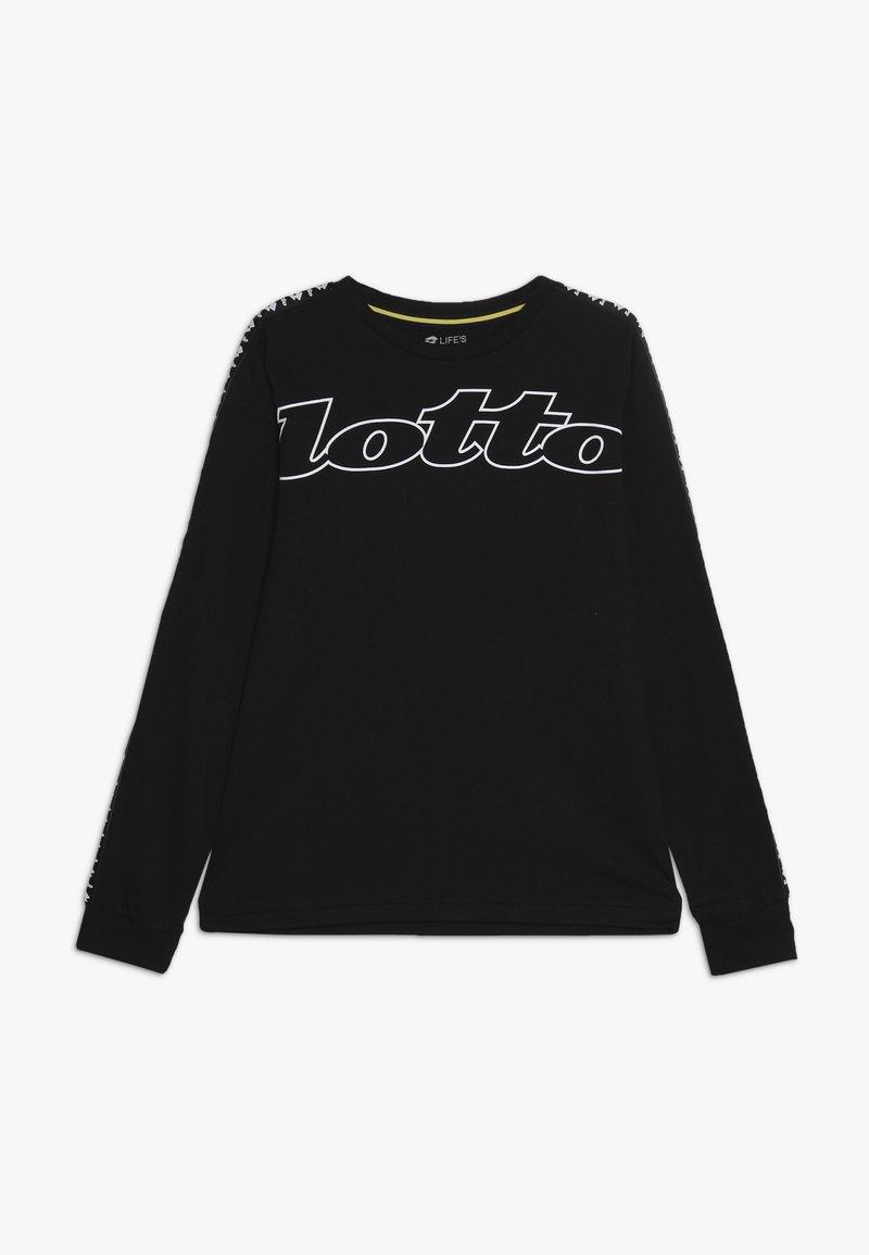 Lotto - DREAMS - T-shirt à manches longues - all black