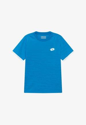 TOP TEN TEE - Camiseta estampada - diva blue