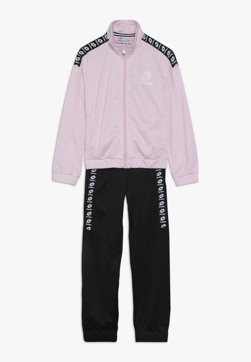 Lotto - DREAMS SUIT   - Verryttelypuku - pink cherry/all black