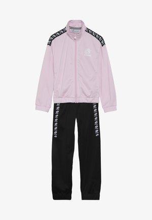 DREAMS SUIT   - Trainingsanzug - pink cherry/all black