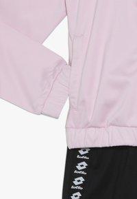 Lotto - DREAMS SUIT   - Verryttelypuku - pink cherry/all black - 3