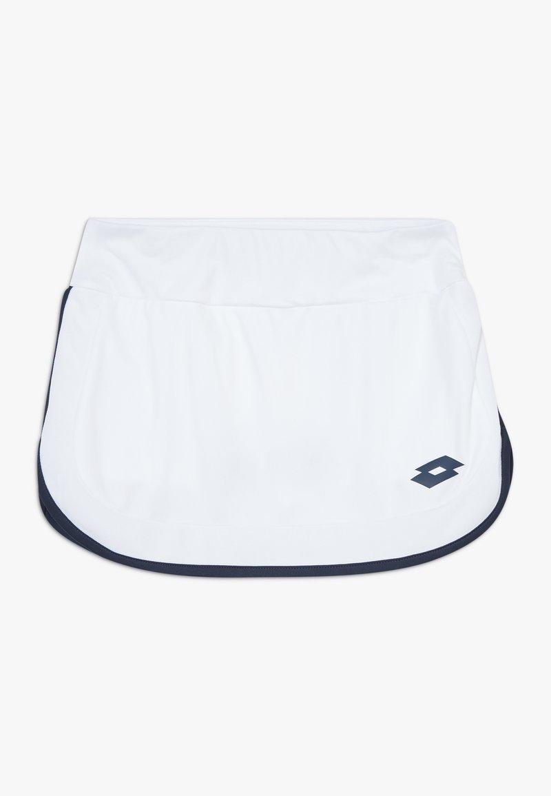Lotto - SQUADRA SKIRT - Sports skirt - brilliant white