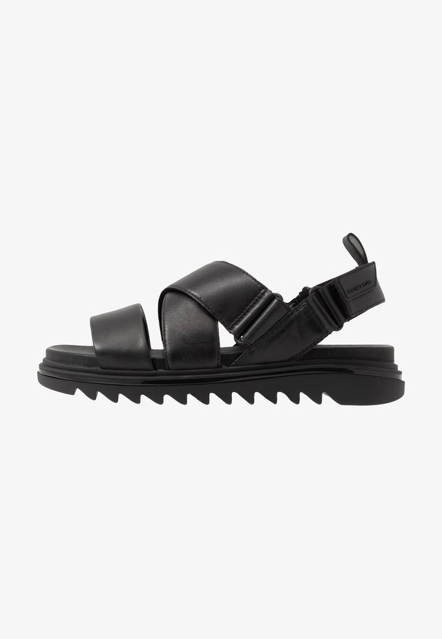 DAMON - Sandals - black