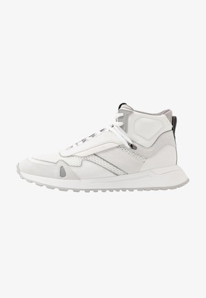 MILES HIGH TOP - Sneakersy wysokie - optic white