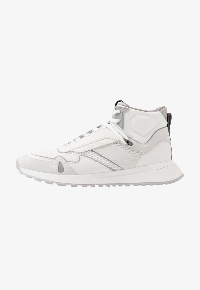 MILES HIGH TOP - Höga sneakers - optic white