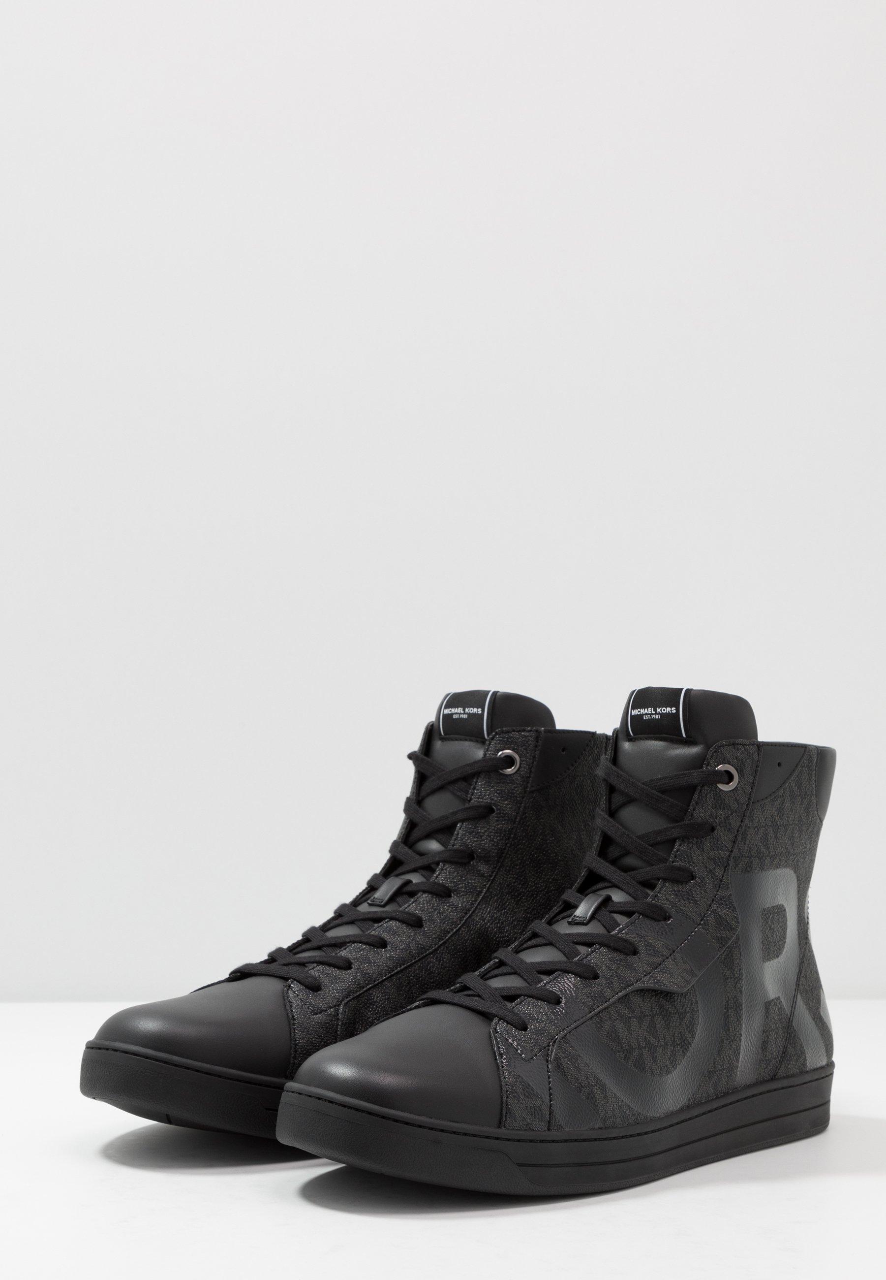 Michael Kors KEATING TOP - Sneakersy wysokie - black