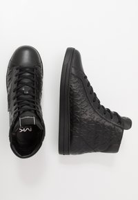 Michael Kors - KEATING - Sneakersy wysokie - black - 1
