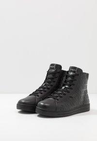 Michael Kors - KEATING - High-top trainers - black - 2