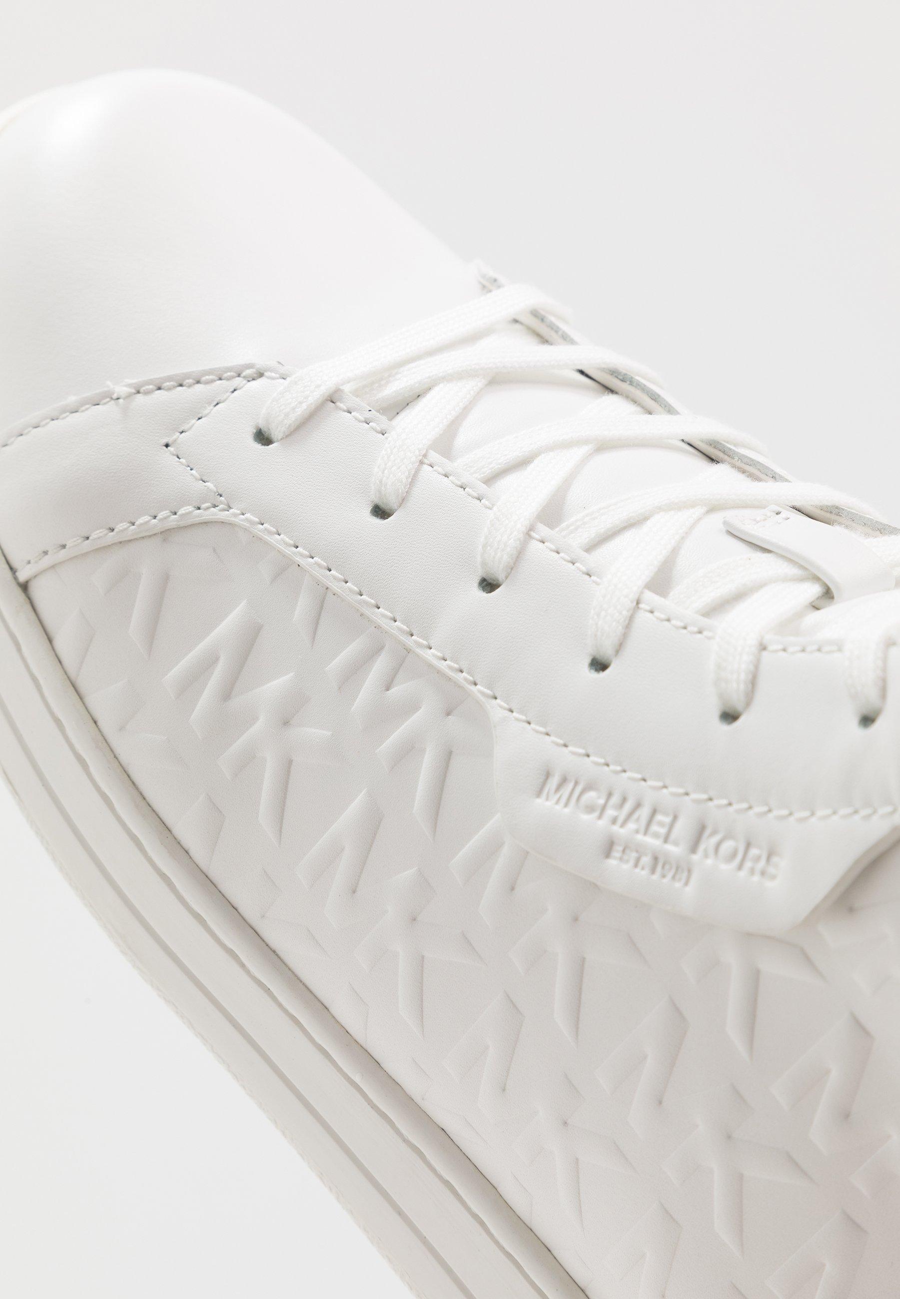 Michael Kors KEATING TOP - Sneakers alte - optic white jL8phc15