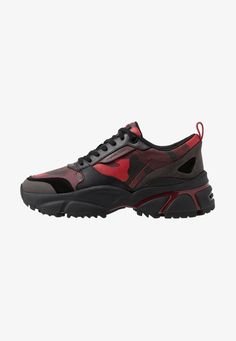 Michael Kors - ETHAN - Trainers - black/bright red