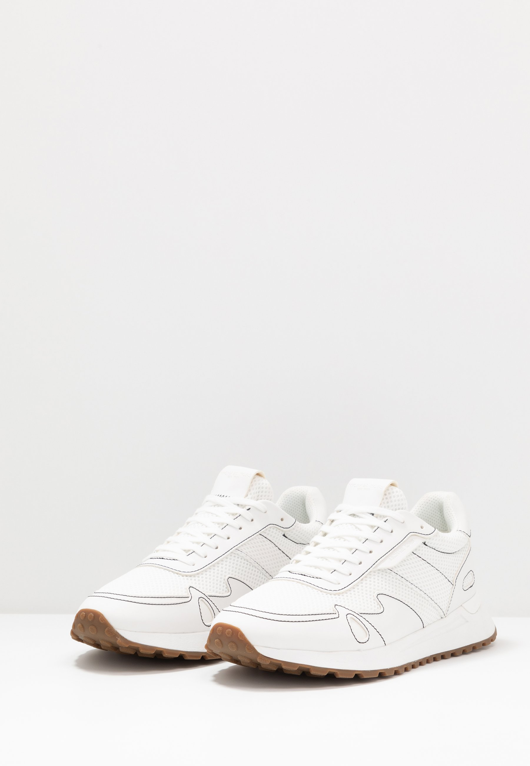 Michael Kors MILES - Sneakers - optic white