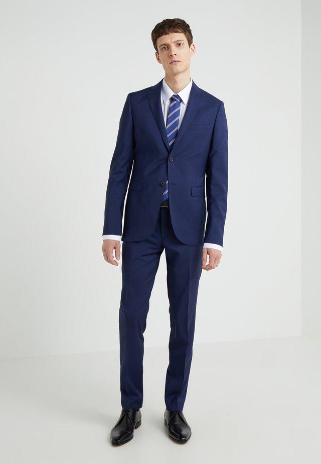 SLIM FIT SOLID SUIT - Completo - blue
