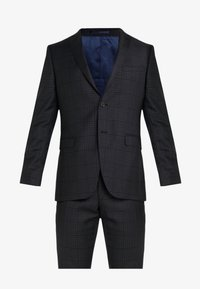 Michael Kors - SLIM FIT CHECK SUIT - Traje - dark grey - 10
