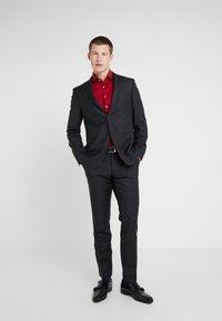 Michael Kors - SLIM FIT CHECK SUIT - Traje - dark grey - 0