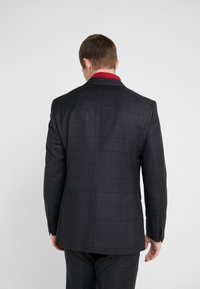 Michael Kors - SLIM FIT CHECK SUIT - Traje - dark grey - 3